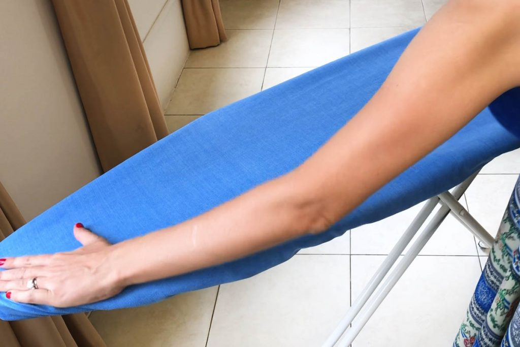 ironing board cover with elastic