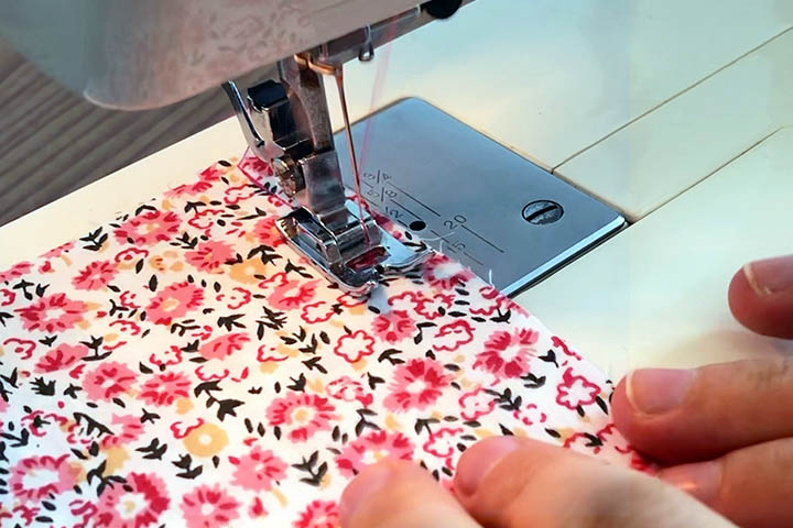sewing French seams